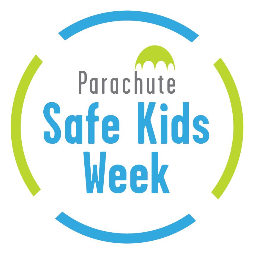 parachute safe kids week logo