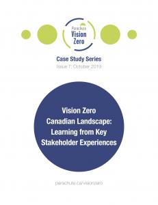 Cover of Vision Zero Case Study 07