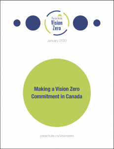 Learn how Canadian jurisdictions can make their Vision Zero commitment